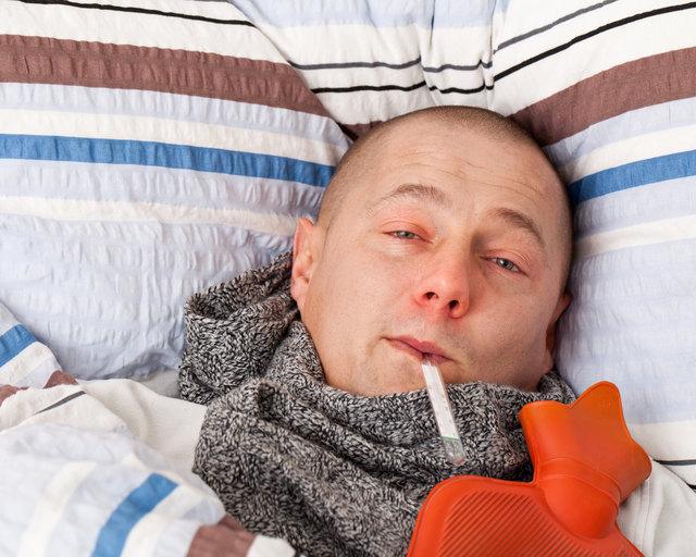 Durch Vorbeugung kann man sich gegen eine Grippeinfektion schützen.