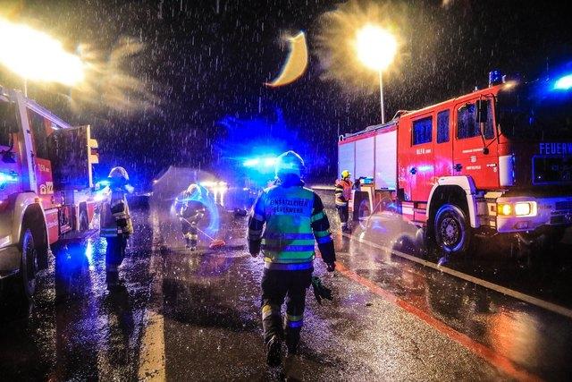 Die Feuerwehr will bei Einsätzen in Ruhe arbeiten können. Foto: FF/Zeiler