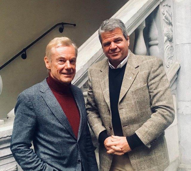 Jurist Arnold Riebenbauer steht dem Team Kärnten mit Gerhard Köfer ab sofort juristisch beratend zur Seite