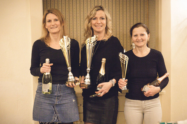 v.l.n.r.:Angela Solar, Manuela Peischl, Monika Sommer