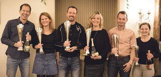 v.l.n.r.: v.l.n.r.: Thomas Baucek, Angela Solar, Ralph Zehenthofer, Manuela Peischl, Christian Schuster, Monika Sommer