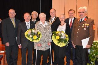 Eduard Herzog, Heiner Zuckschwert, Manfred Pukl, Leopoldine Seltenhammer, Alfred Pohl, Riki Bachmayer, Klaus Frank und Walter Hiller