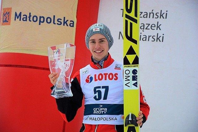 Platz 1 und 2 gab es für Maximilian Steiner beim FIS-Cup in Zakopane