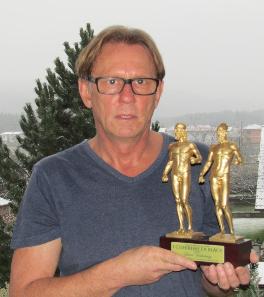 Heinz Trutsching freut sich über die Auszeichnung