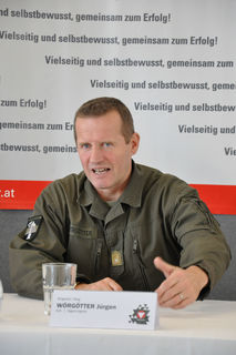 Brigadier Jürgen Wörgötter, Kommandant der 7. Jägerbrigade, zog anlässlich der bevorstehenden Beendigung seiner Tätigkeit als Brigadekommandant Bilanz.