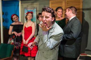 Die Mimik macht's: Der Gratweiner Moritz Linni ist immer für einen Lacher gut. Derzeit steht er mit den Grazbürsten auf der Bühne.