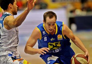 Will in der Tabelle anschreiben: UBSC-Spieler Anton Maresch
