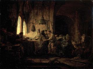 Das Weinberggleichnis hat auch bedeutende Künstler wie Rembrandt inspiriert: In diesem Werk aus dem Jahre 1637 wird die Bezahlung der Arbeiter dargestellt.