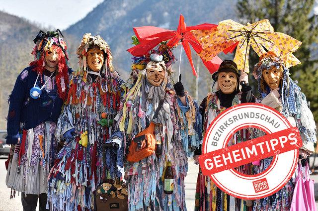 Am 12. Februar sind in Ebensee die Fetzen unterwegs.