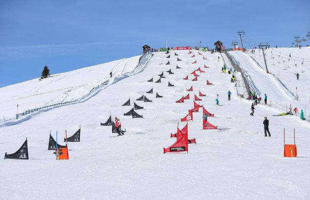 Der WM-Hang am Lachtal ist bereit für die Snowboarder. Foto: GEPA pictures/Walgram