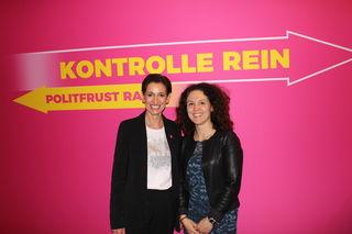 Neos-Spitzenkandidatinnen: Indra Collini (Land NÖ) und Daniela Gschwindl (Bezirk Mistelbach)