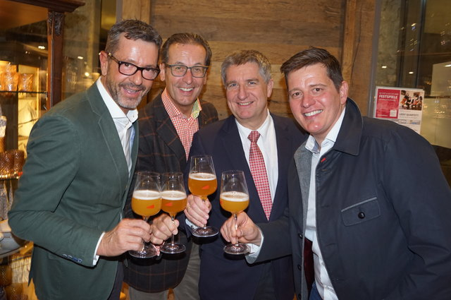 Michael Kretz, Wolfgang Schneider, Georg Zehetmayer und Martin Armstorfer.