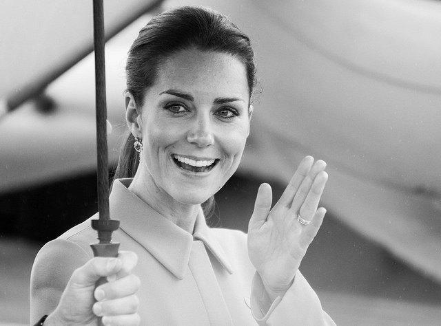 Kate Middleton im coolen neuen Look