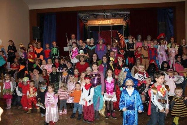 Auch heuer werden viel lustig verkleidete Kinder in der Neuen Burg erwartet