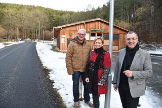 Stadtrat KommR Peter Spicker, Stadträtin KommR Martina Klengl und Bürgermeister LAbg. Rupert Dworak.