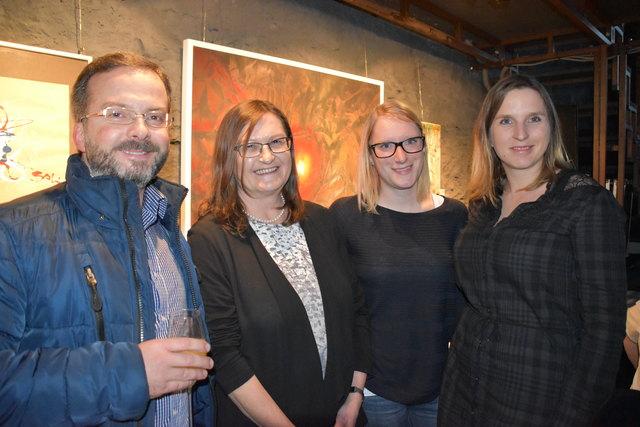 Edi, Waltraud, Sarah und Sonja (v. li)