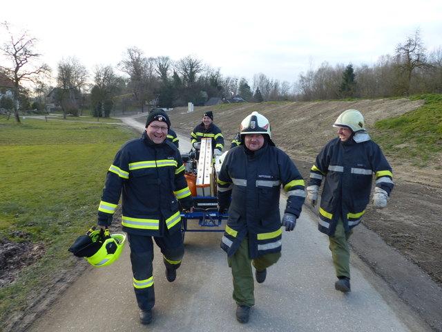 Feuerwehr Langenstein - stets hoch motiviert