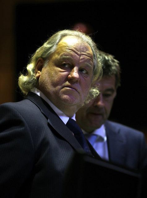 Einst gefeierter Sturm-Präsident, jetzt insolvent: Hannes Kartnig