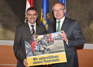 Manfred Schulz und Stephan Pernkopf