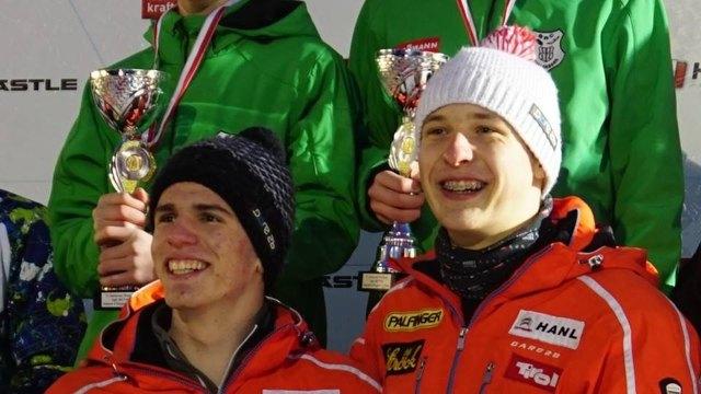 Riccardo Schöpf und Juri Gatt haben gut Lachen!