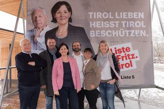 LA Andrea Haselwanter-Schneider (mi.) samt Team