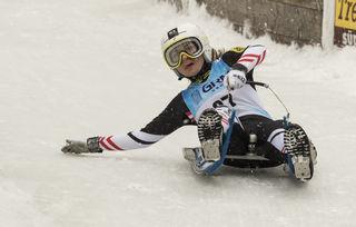 Unterberger beim Weltcup in Mariazell.