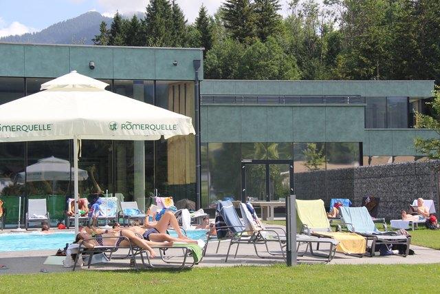 Die Besucherzahlen in der Alpentherme waren 2017 sehr erfreulich.