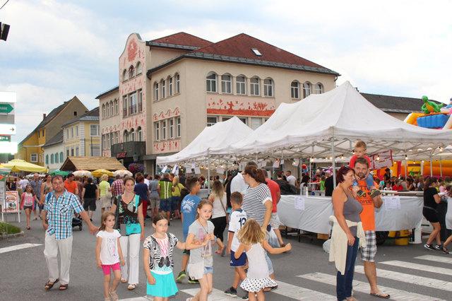 Drei Jahre lang wird es in Voitsberg kein Stadtfest am Hauptplatz geben, es wird auf den Platz vor der Sporthalle ausgewichen.