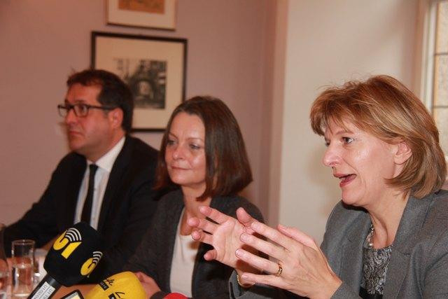 Bei der Hereinnahme der ÖVP in die Stadtregierung betonten alle Partner, wie wichtig ihnen die Oppositionsrechte seien.