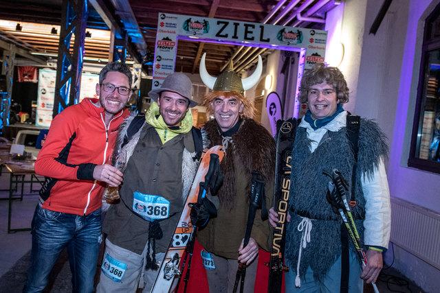 Thomas Zand, Marco Sampl, Walter Altenberger und Tom Klaus.