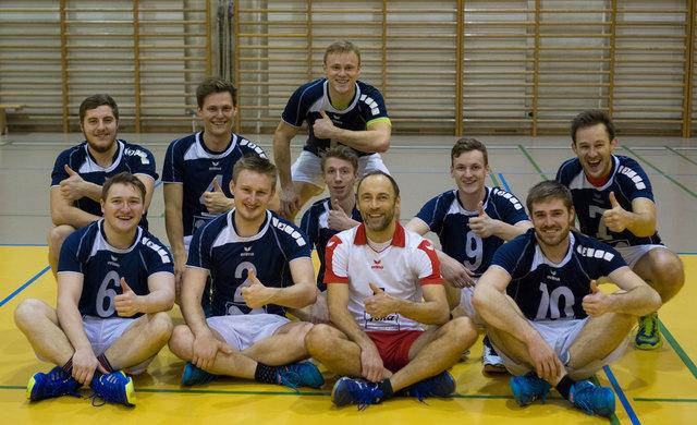 Die Volleyballer des VC Esternberg bleiben weiterhin ungeschlagen.