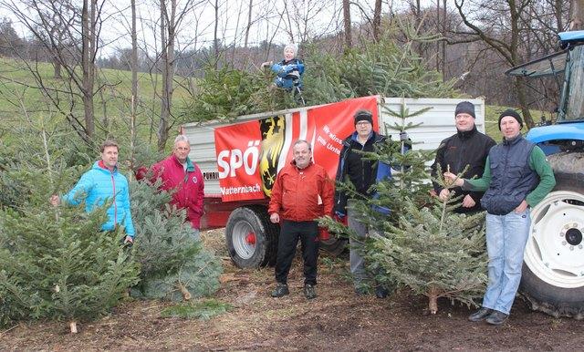 Drei Anhängerladungen sammelte das Team der SPÖ-Natternbach.