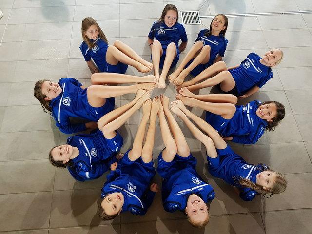 Synchronschwimmerinnen