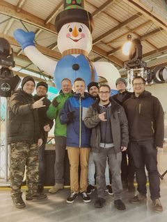 Das Organisationsteam der Marchtrenker Eisdiscos freut sich bereits auf das nächste Jahr.