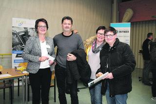 Erika Kobencic informierte beim Lehrlingsinfoabend in Altheim persönlich über die Lehre als Zerspanungstechniker.