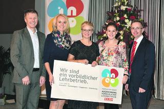 Ausgezeichnete Lehrstellen: Seit 2017 ist die Wagner Haustechnik mit dem INEO Award zertifiziert.