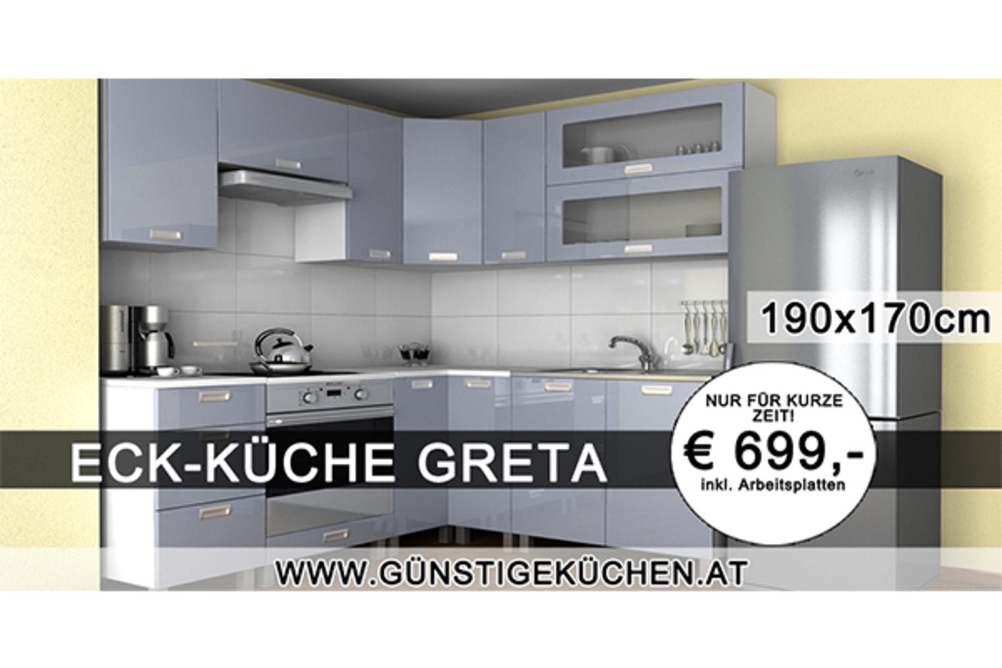 Hochglanz Küchen In 1100 Wien Favoriten: Topmoderne Küchen Zum  Erschwinglichen Preis Bei GünstigeKüchen.at!   Favoriten