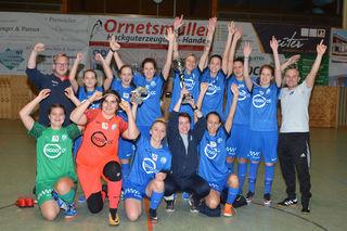 Der WSC Hertha triumphierte beim Altheimer Ladies-Cup.