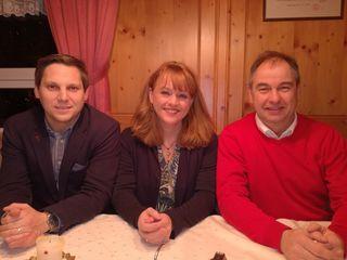 Feierten 50 Jahre SPÖ Schwoich: NR Christian Kovacevic, Patricia Bittersam-Horejs und Wolfgang Rieser (v.l.).