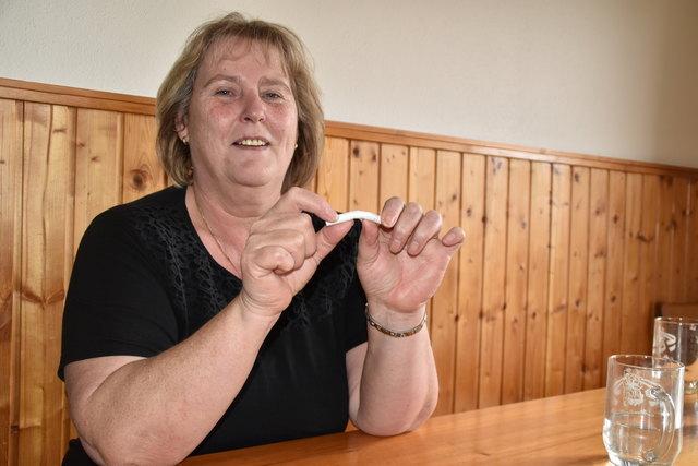 Hermine Nutz hat ab Jänner diesen Jahres das Rauchen in ihrem Heurigenbetrieb abgeschafft.
