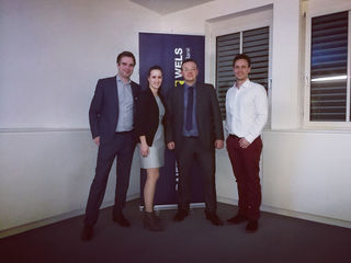 Philipp Summereder, Jennifer Brandstätter, Martin Klinger, Christoph Eiber.