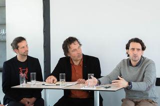 Daniel Kofler, Christian Hlade und Martin Auer (von links) repräsentieren eine neue Unternehmergeneration: Regional und global zugleich.