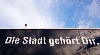 Slogan der Wiener Linien.