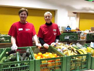 74 Freiwillige engagieren sich bei LE+O in der Pfarre Gartenstadt. Viele davon helfen seit Jahren regelmäßig mit.