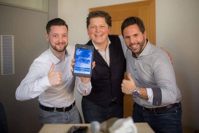 Symvaro-Management-Team: Philipp Kozeny, Rudolf Ball, Gernot F. Fleiss