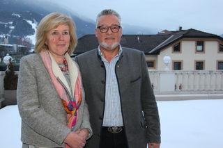 Josef Schett und Maria Zwölfer wollen wieder im Landtag sitzen.
