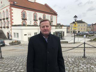 Landesrat Gottfried Waldhäusl hat noch immer das Ziel Bürgermeister von Waidhofen zu werden.