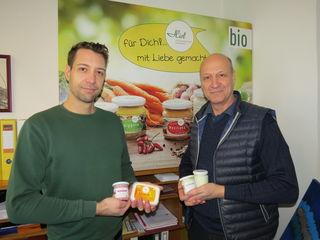 Richard und Peter Hiel haben sich auf vegetarische, biologische und vegane Lebensmittel spezialisiert.