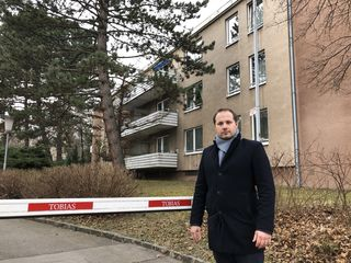 Bezirksvize Daniel Resch (ÖVP) wird die Baupläne in der Bauernfeldgasse 7-9 mit strengem Auge beobachten.