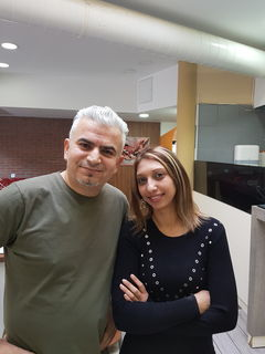 "Kadir Kafali & Sanela Milosevic - ""FuZo"" Eis Café Restaurant, Bruck an der Leitha"